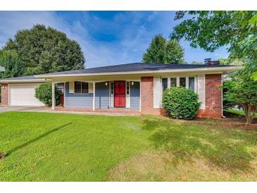Photo one of 678 Berry Hill Ct Stone Mountain GA 30083   MLS 9017124