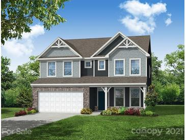 Photo one of 4531 Falls Lake Sw Dr # Lot 128 Concord NC 28025 | MLS 3733931