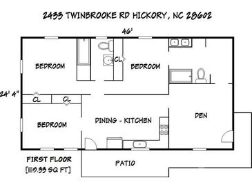 Photo one of 2433 Twinbrooke Rd Hickory NC 28602 | MLS 3778367