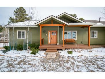 Photo one of 23845 Navajo Rd Indian Hills CO 80454 | MLS 1673661