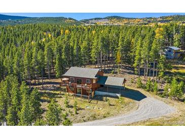 Photo one of 100 Apache Rd Evergreen CO 80439   MLS 2412638