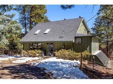 Photo one of 7106 Julie Ln Evergreen CO 80439 | MLS 3594839