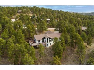 Photo one of 2887 Hiwan Dr Evergreen CO 80439 | MLS 4048527