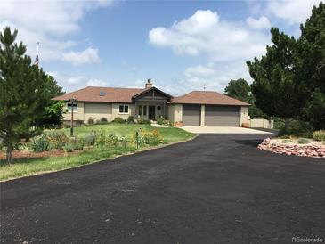 Photo one of 971 N White Tail Dr Franktown CO 80116   MLS 4555369