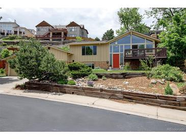 Photo one of 981 S Foothill Dr Lakewood CO 80228   MLS 6085457