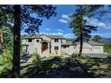 Photo one of 7260 S Frog Hollow Ln Evergreen CO 80439 | MLS 6260629