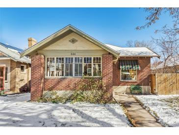 Photo one of 644 Madison St Denver CO 80206 | MLS 6462711