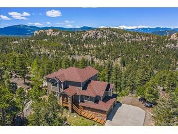 Photo one of 6555 Olympus Dr Evergreen CO 80439   MLS 6480890