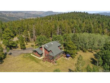 Photo one of 600 Old Squaw Pass Rd Evergreen CO 80439 | MLS 6682186