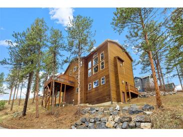 Photo one of 3133 Kitten Tails Way Evergreen CO 80439 | MLS 6686597