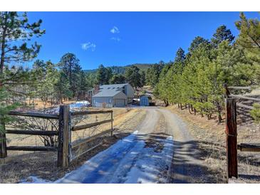 Photo one of 5615 S Hatch Dr Evergreen CO 80439 | MLS 6716290