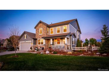 Photo one of 10444 Skyreach Way Highlands Ranch CO 80126   MLS 6760049