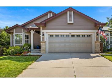 Photo one of 9446 Brook Ln Lone Tree CO 80124   MLS 7043528
