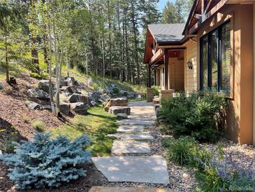 Photo one of 30143 Pine Crest Dr Evergreen CO 80439   MLS 7404539