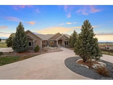 Photo one of 5219 Stone Canon Ranch Rd Castle Rock CO 80104 | MLS 7622620