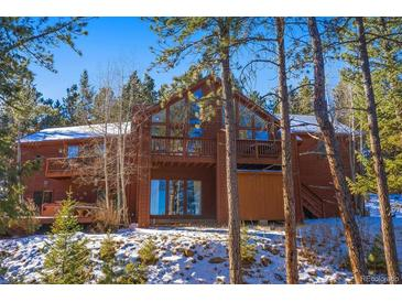 Photo one of 7112 Pinewood Dr Evergreen CO 80439 | MLS 7743874