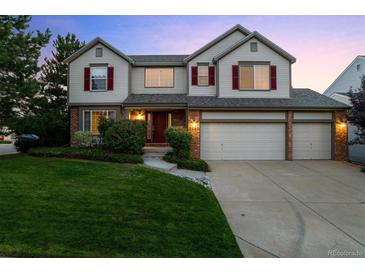 Photo one of 9943 Hawthorne St Highlands Ranch CO 80126 | MLS 8541949