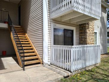 Photo one of 14151 E Jewell Ave # 104 Aurora CO 80012   MLS 8579202