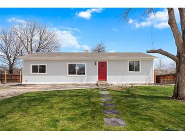 Photo one of 11657 W 71St Dr Arvada CO 80004 | MLS 9541168
