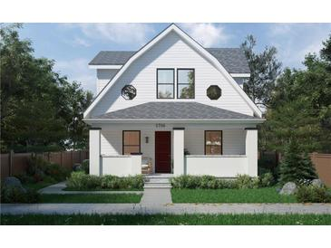 Photo one of 1716 Rembrandt St Indianapolis IN 46202 | MLS 21738298