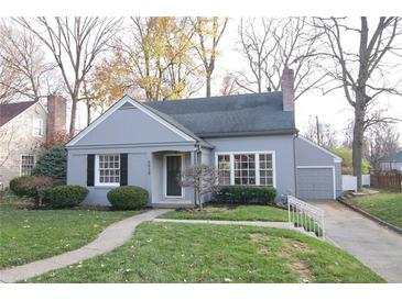 Photo one of 5939 Evanston Ave Indianapolis IN 46220 | MLS 21752011