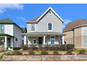 Photo one of 2838 Carrollton Ave Indianapolis IN 46205 | MLS 21752867