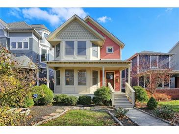 Photo one of 1527 Carrollton Ave Indianapolis IN 46202 | MLS 21755470