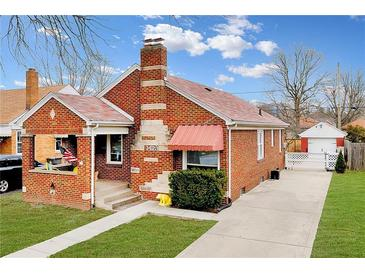 Photo one of 1473 N Leland Ave Indianapolis IN 46219   MLS 21759218