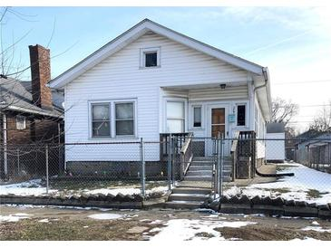 Photo one of 207 N Hamilton Ave Indianapolis IN 46201 | MLS 21767387