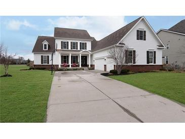 Photo one of 9184 Brookstone Pl Zionsville IN 46077   MLS 21771482