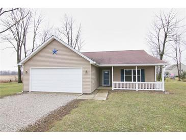 Photo one of 2056 S 500 East Greenfield IN 46140 | MLS 21771788