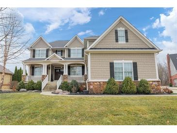Photo one of 10001 Forest Meadow Cir Fishers IN 46040 | MLS 21771860