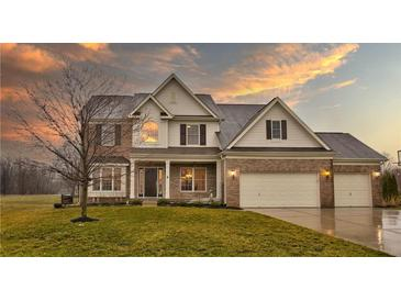 Photo one of 3536 Mossy Rock Dr Zionsville IN 46077 | MLS 21773171