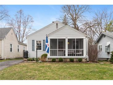 Photo one of 6118 Evanston Ave Indianapolis IN 46220 | MLS 21773801