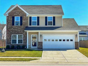 Photo one of 6757 School Branch Dr Brownsburg IN 46112 | MLS 21774244