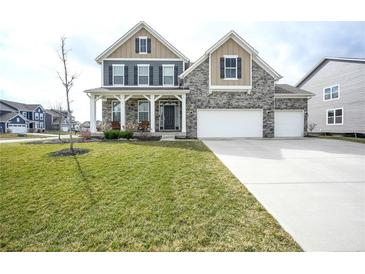 Photo one of 10557 Endicott Way Fishers IN 46040 | MLS 21774356