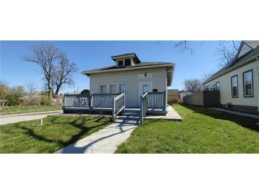 Photo one of 345 N Walcott St Indianapolis IN 46201 | MLS 21775444