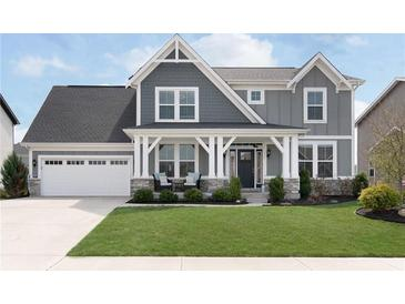 Photo one of 6431 W Clearview Dr McCordsville IN 46055 | MLS 21775462