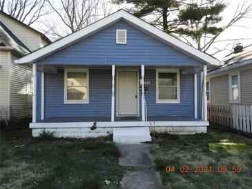 Photo one of 445 N Goodlet Ave Indianapolis IN 46222 | MLS 21776845