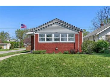 Photo one of 5202 E Saint Clair St Indianapolis IN 46219 | MLS 21777992