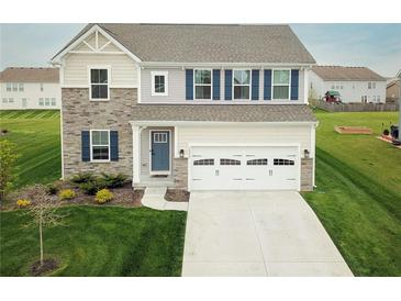 Photo one of 10457 Long Branch Dr Brownsburg IN 46112 | MLS 21779248