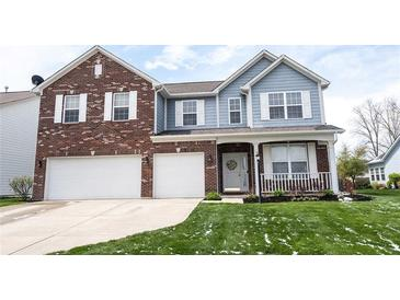 Photo one of 9732 Brook Meadow Dr McCordsville IN 46055 | MLS 21779344