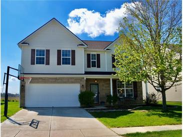 Photo one of 3410 Firethorn Dr Whitestown IN 46075 | MLS 21779619
