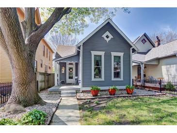 Photo one of 1446 N New Jersey St Indianapolis IN 46202 | MLS 21780975