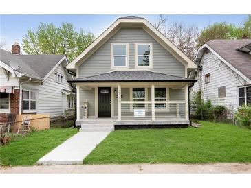 Photo one of 2189 N Harding St Indianapolis IN 46202 | MLS 21781276