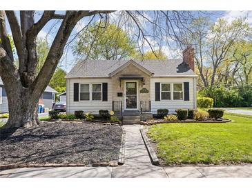 Photo one of 5845 Rosslyn Ave Indianapolis IN 46220 | MLS 21781675