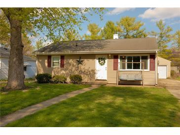 Photo one of 115 Eikenberry St Greenfield IN 46140 | MLS 21782191