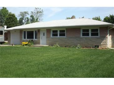 Photo one of 4556 Blackstone Dr Indianapolis IN 46237   MLS 21788426
