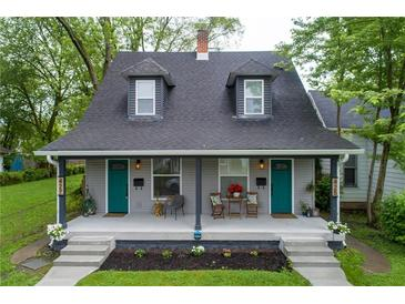 Photo one of 425/427 N Euclid Ave Indianapolis IN 46201 | MLS 21789900