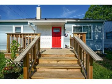 Photo one of 734 S Grand Ave Indianapolis IN 46219 | MLS 21790030